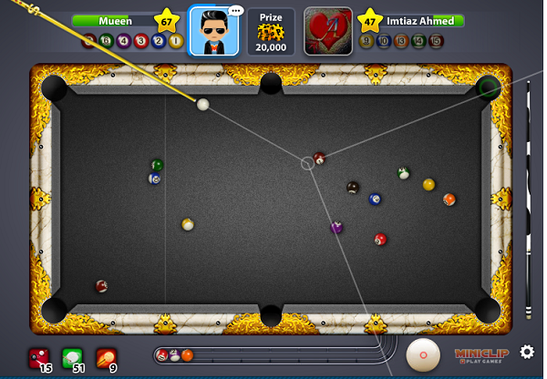 8 Ball Pool Cheats Long Line or Target Line Hack by Cheat Engine Trainer 6