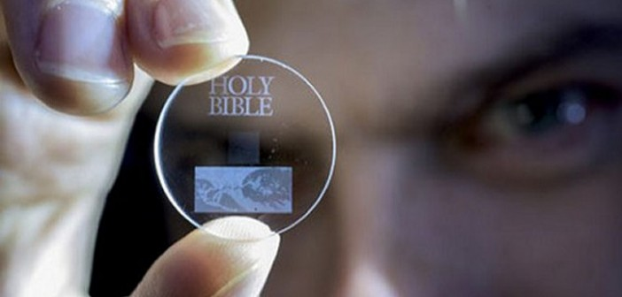 Tiny 5D data storage disc can store 360TB of data and last for billion of years 4