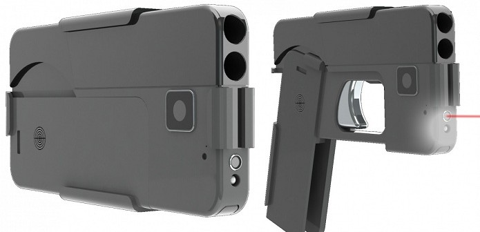 A pistol that can be folded into smartphone is the thinnest weapon you can carry 2