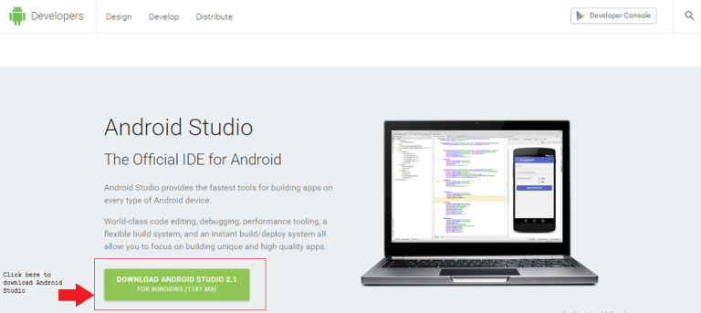 CREATING YOUR FIRST ANDROID APPLICATION ( ANDROID STUDIO) 11