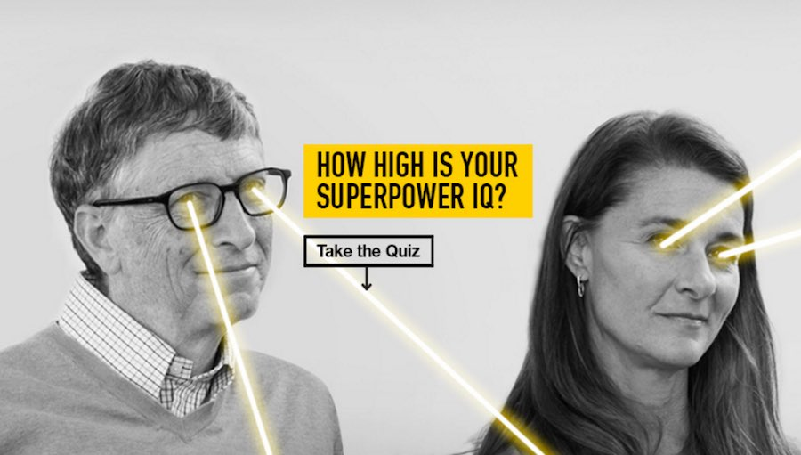 "Bill Gates Wants You To Take His Quiz And Measure Your ""Superpower IQ"" 2"