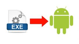 HOW TO RUN .EXE FILE IN ANDROID 4