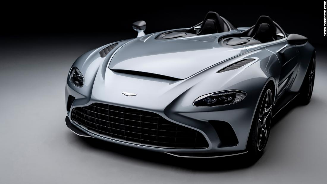 This Aston Martin supercar costs $950,000 and has no roof or windshield