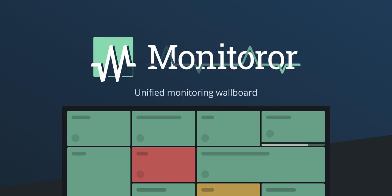Monitoror — Unified monitoring wallboard