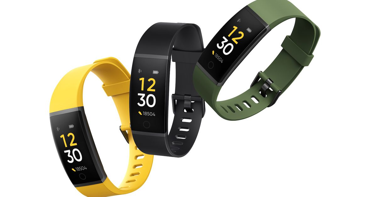 Realme's first wearable is a $20 fitness band with a cricket mode