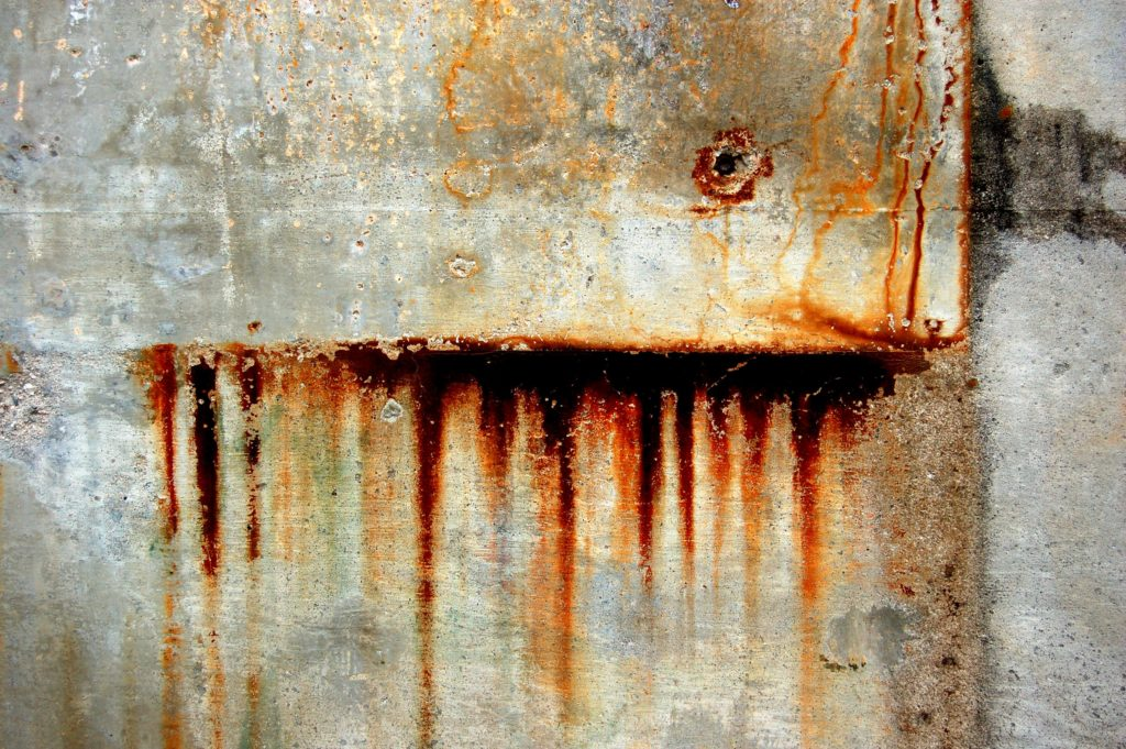 Hydrogen made using rust