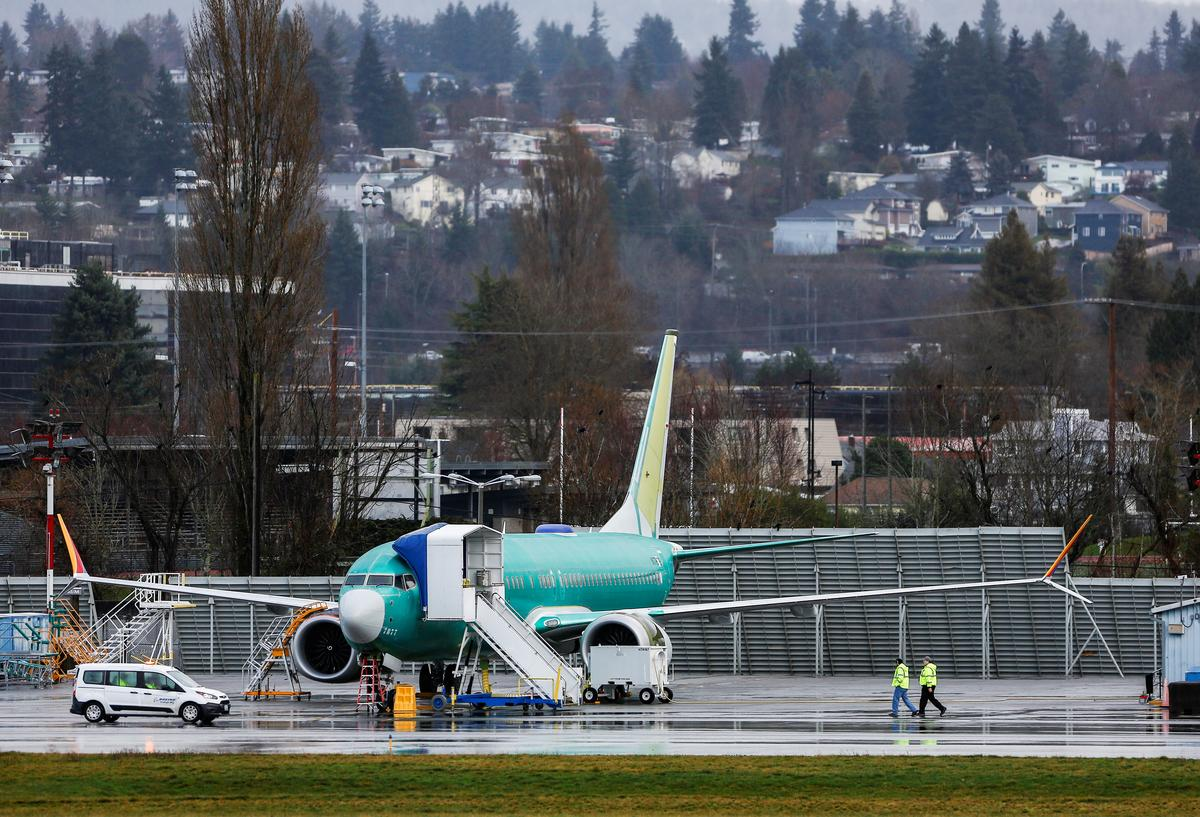 Boeing proposal to avoid MAX wiring shift does not win U.S. support