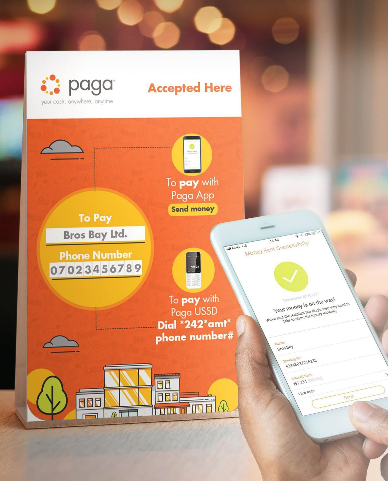 Visa partners with Paga on payments and fintech for Africa and abroad