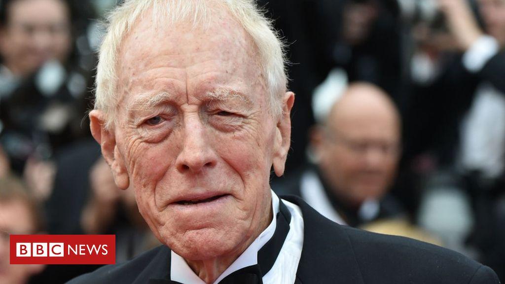 Actor Max Von Sydow dies aged 90