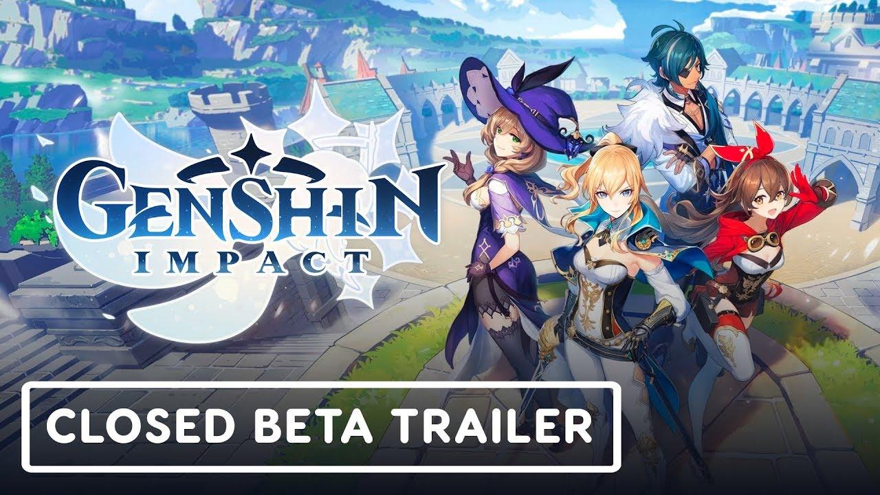 Genshin Impact Closed Beta Test Announcement Trailer