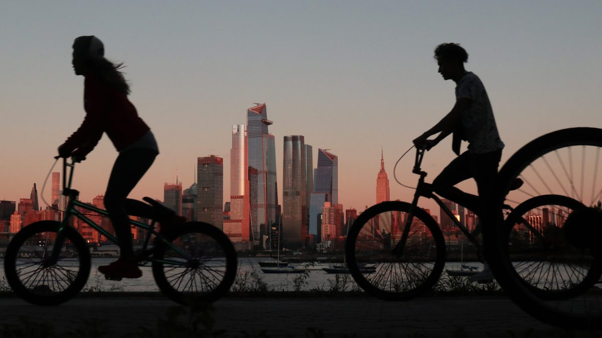 Coronavirus has caused a bicycling boom in New York City