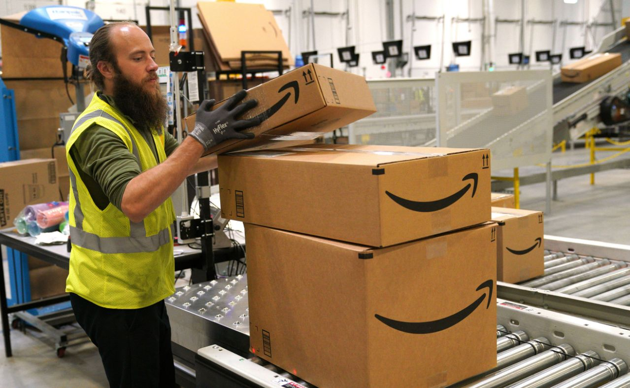 Amazon limiting shipments to certain types of products due to COVID-19 pandemic