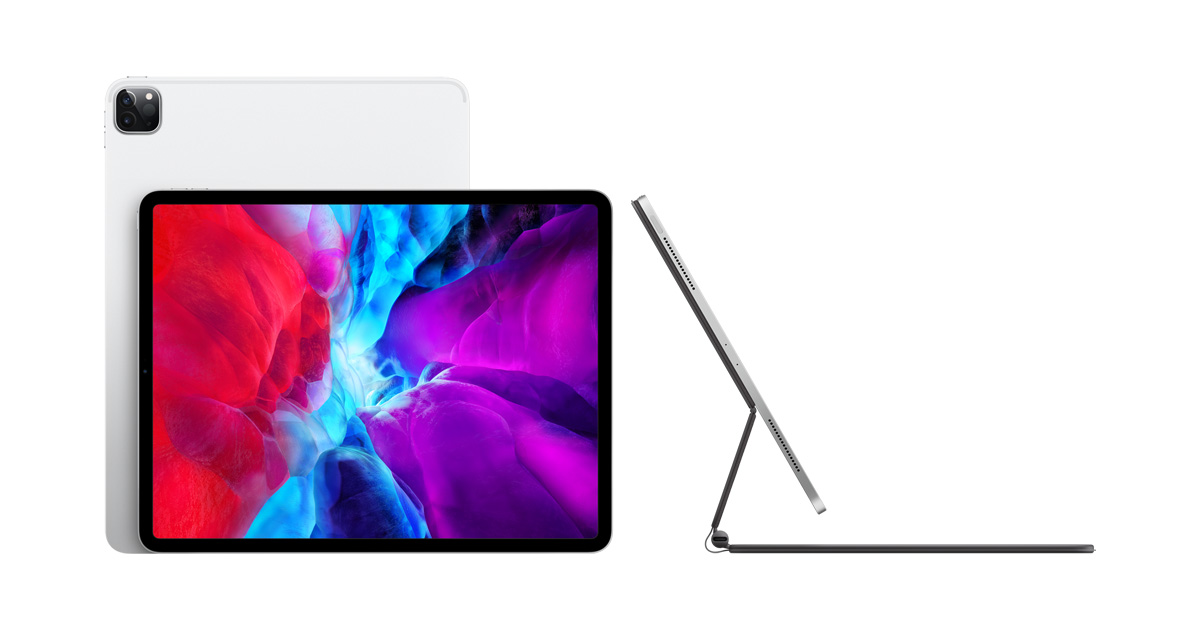 Apple unveils new iPad Pro with breakthrough LiDAR Scanner and brings trackpad support to iPadOS
