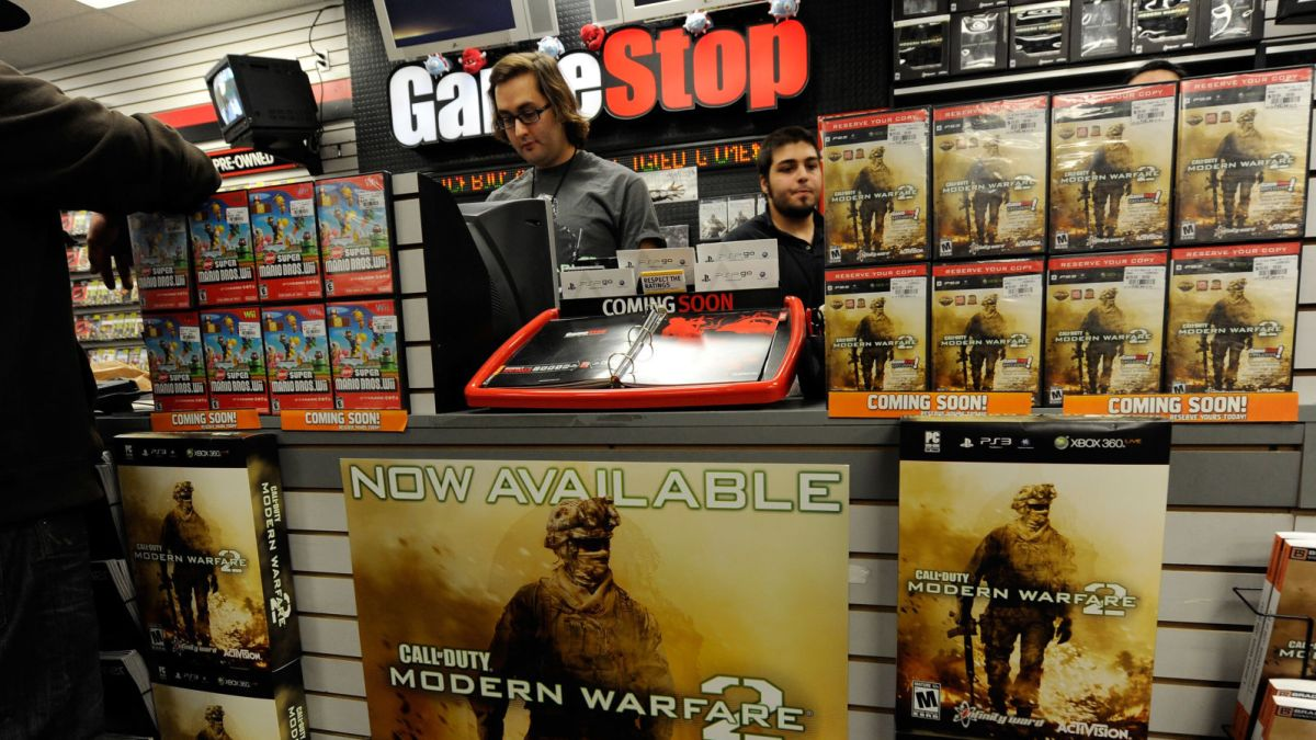GameStop: We Can Stay Open During Lockdowns Because We're 'Essential Retail'