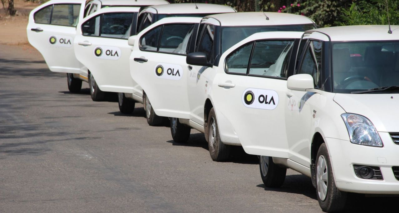Ola suspends shared ride option in India