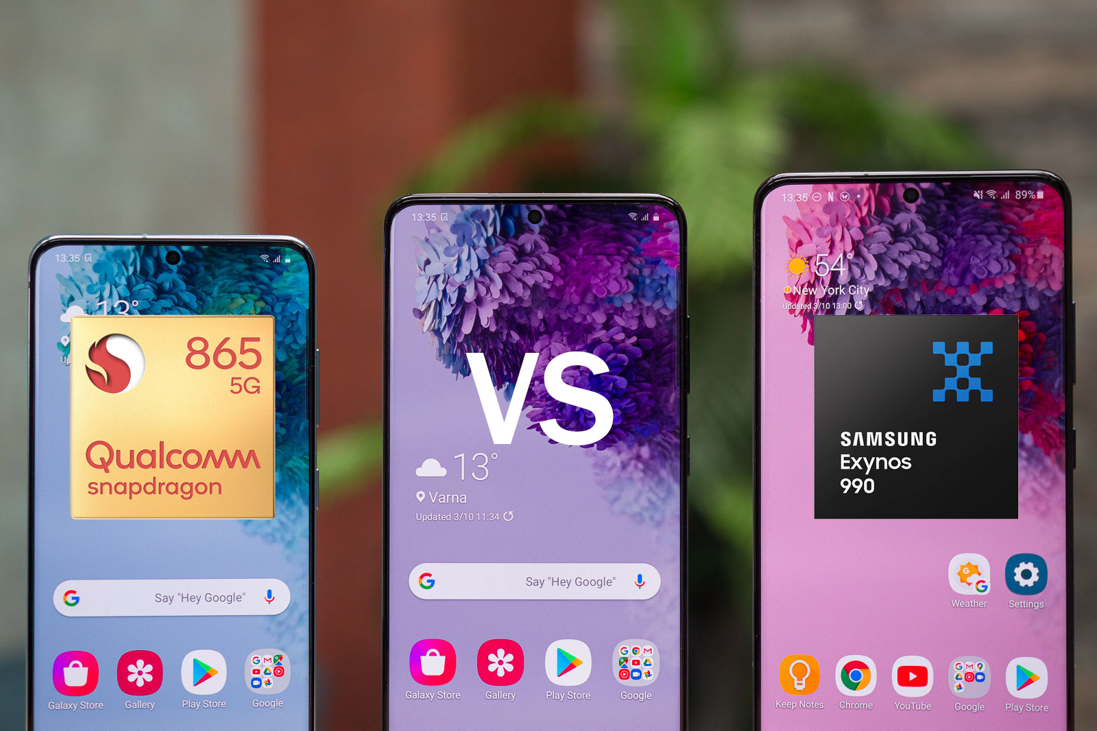 Galaxy S20 Exynos vs Snapdragon battery life and performance, or why Samsung fans are angry