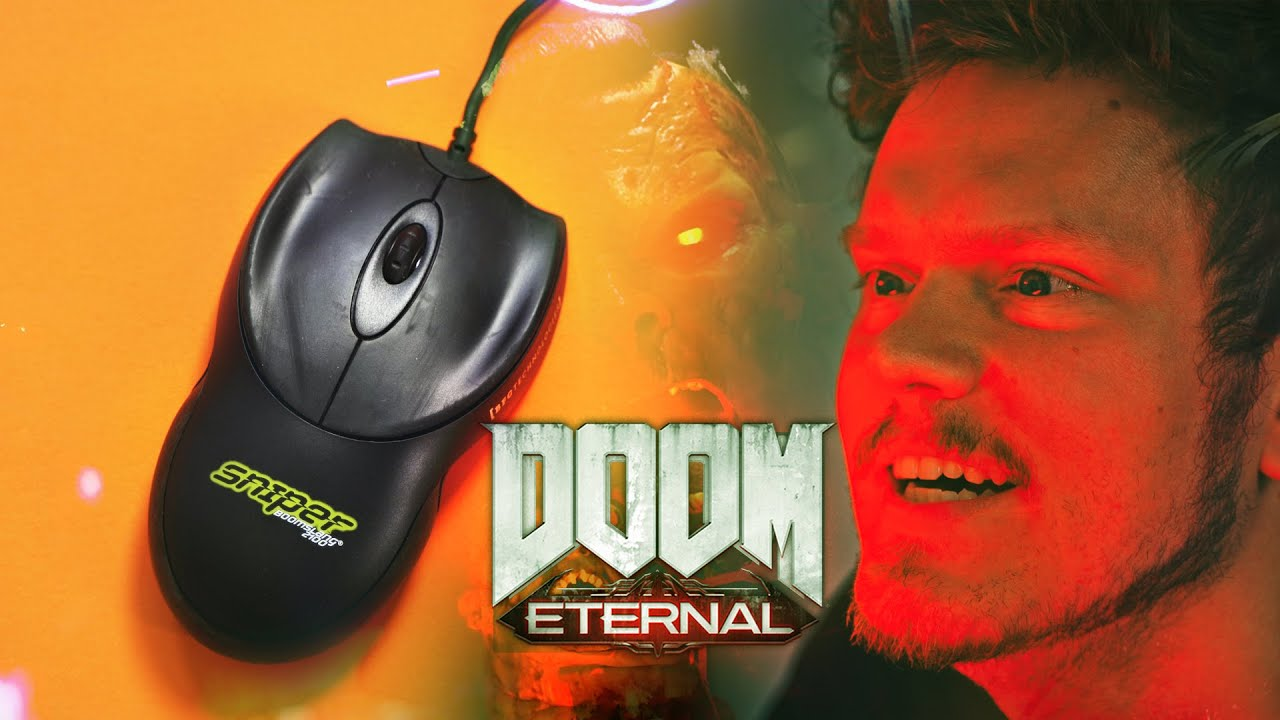 DOOM Eternal…with a 20 Year Old Mouse!