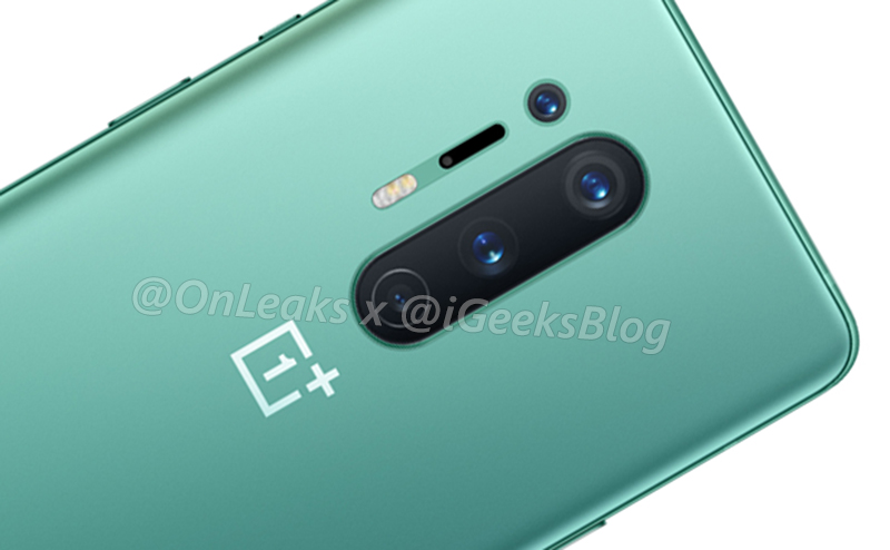 OnePlus 8 Pro surfaces in luscious green shade with IP68 and 30W wireless charging