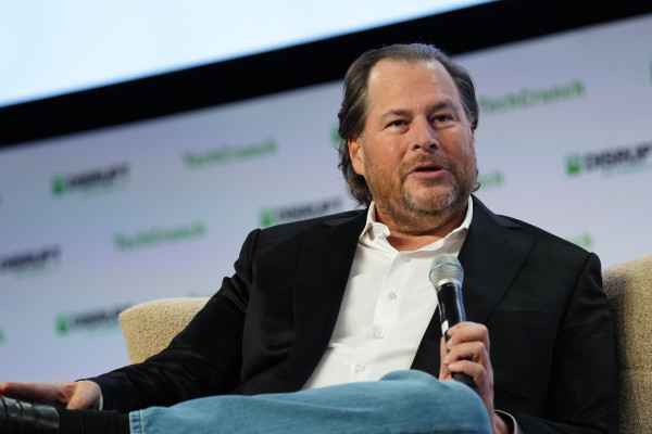 Salesforce's Benioff pledges no 'significant' layoffs for 90s days