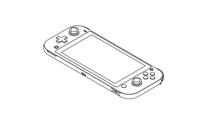 Nintendo Files Patent For The Switch Lite