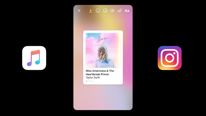 iOS 13.4.5 beta includes new option to share songs from Apple Music on Instagram Stories
