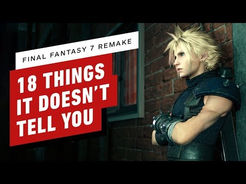 18 Tips & Secrets Final Fantasy 7 Remake Doesn't Tell You