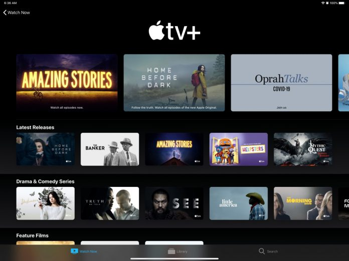 Apple TV+ widens free access as Disney+ passes 50 million subscribers