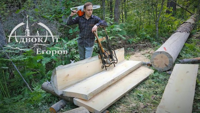 Two Chainsaw Secrets   Turning a Tree into Perfect Boards