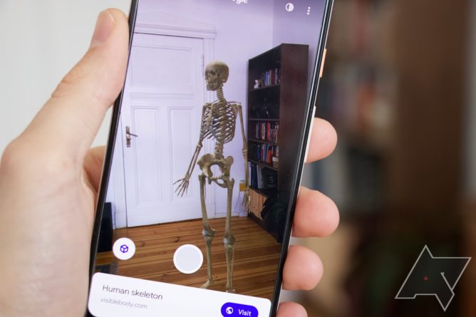 How to find a 3D skeleton, car, Santa, planet, and other cool AR objects in Google Search (Update: Chauvet cave)
