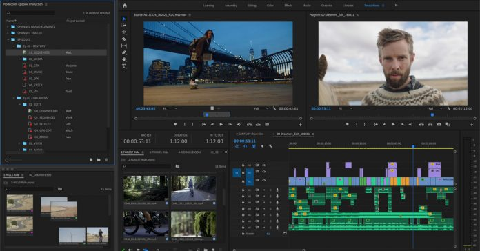 Adobe releases new organization tool for Premiere Pro called Productions
