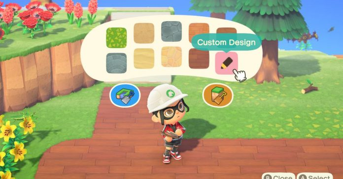 How to make custom paths in Animal Crossing: New Horizons